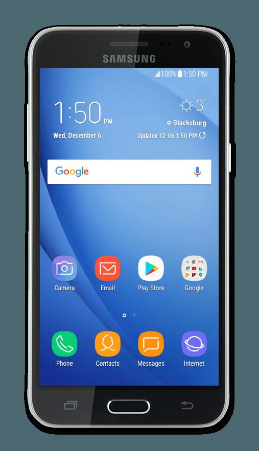 Samsung J3 Support Telus